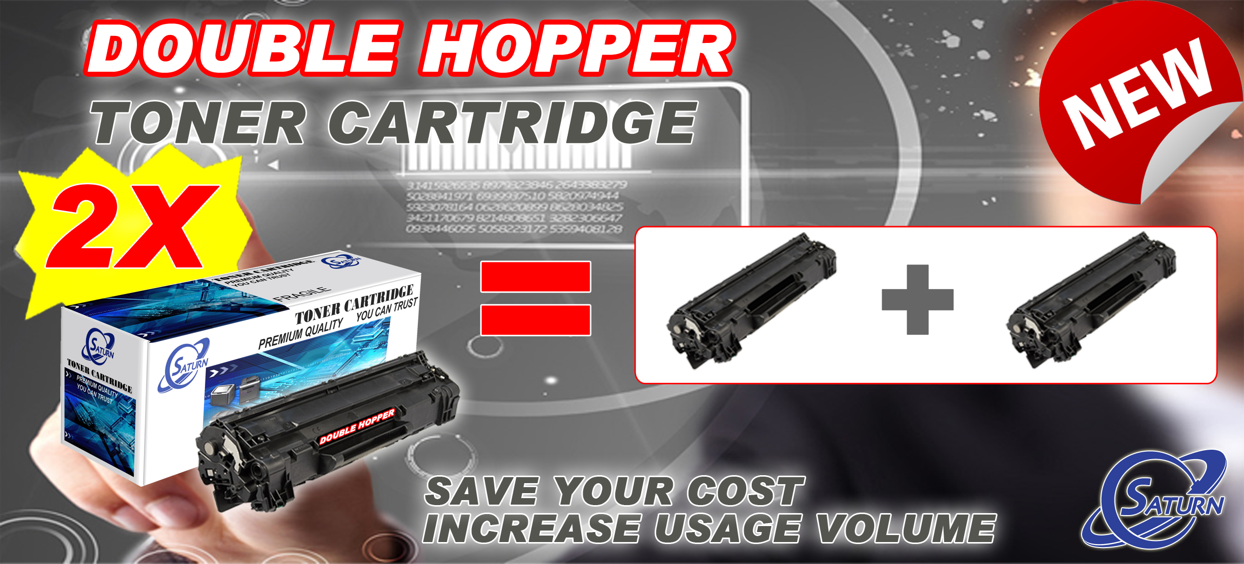 Toner Cartridge 2X